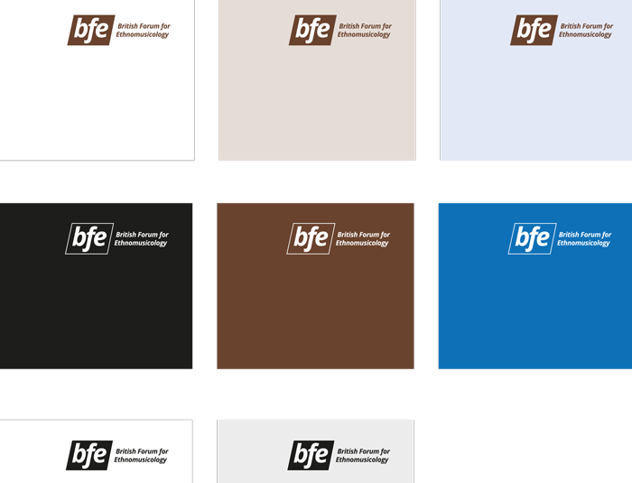 BFE identity: logos detail